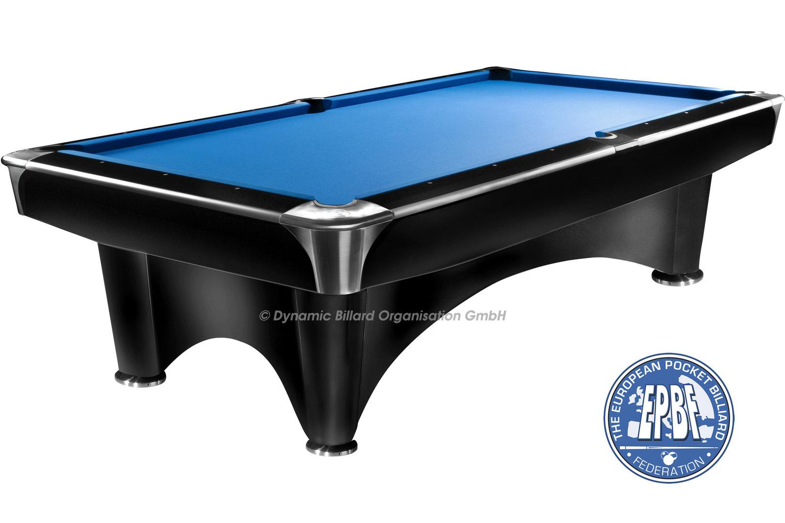 Dynamic iii 9 pool table black suomen biljardikauppa oy for Pool table 6 x 3