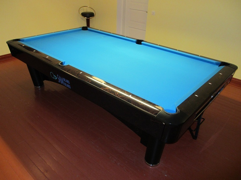Sam K Steel 9 Ft Pool Table Second Hand Suomen Biljardikauppa Oy