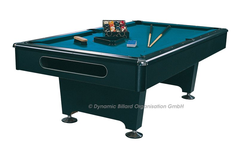 Dynamic eliminator pool table 7 ft suomen for Pool durchmesser 4 50