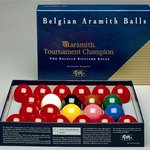 Aramith Tournament Snookerpallosarja, 52,4 mm