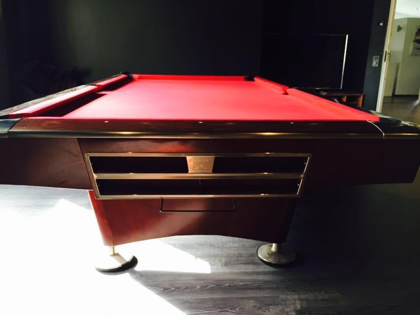 Brunswick Gold Crown Iv 9 180 Pool Table Second Hand Suomen